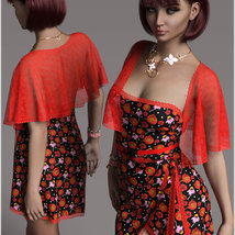 Stylish for dForce Traci Holiday Dress Outfit image 4
