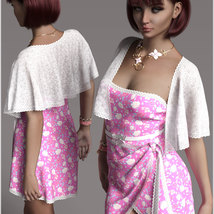 Stylish for dForce Traci Holiday Dress Outfit image 5