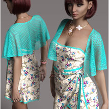 Stylish for dForce Traci Holiday Dress Outfit image 7
