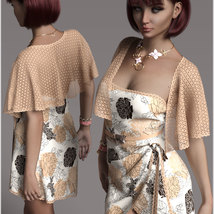 Stylish for dForce Traci Holiday Dress Outfit image 9