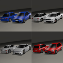 Super Low Poly Vehicles - Extended License image 1