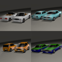 Super Low Poly Vehicles - Extended License image 2