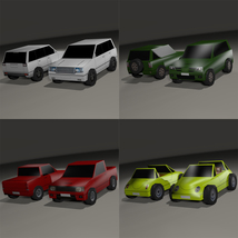 Super Low Poly Vehicles - Extended License image 3