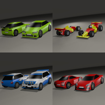 Super Low Poly Vehicles - Extended License image 5