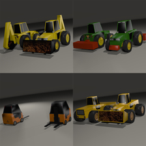 Super Low Poly Vehicles - Extended License image 6