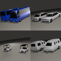 Super Low Poly Vehicles - Extended License image 8