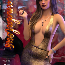 Scandalous for dForce Flirty Dress for Genesis 8 Female(s) image 3