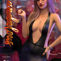 Scandalous for dForce Flirty Dress for Genesis 8 Female(s) image 4