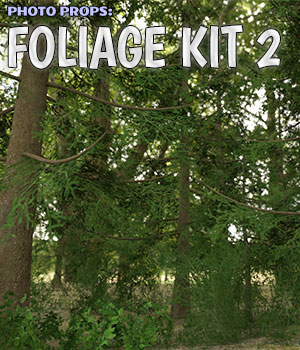 Photo Props: Foliage Kit 2 3D Models ShaaraMuse3D