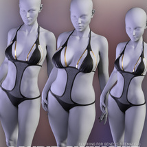 Candid Swimsuit for Genesis 8 Females image 6