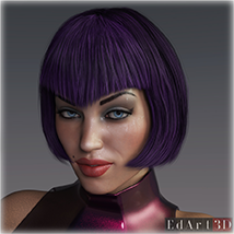 SciFi Hair for G8F image 12