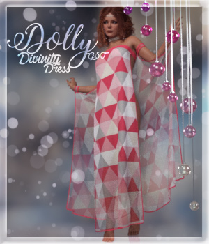 Dolly Divinity Outfit G8F 3D Figure Assets alexaana