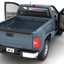 GENERIC PICKUP TRUCK 13  Extended License image 6