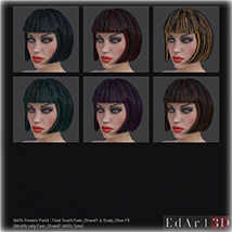 SciFi Hair for G3F image 6