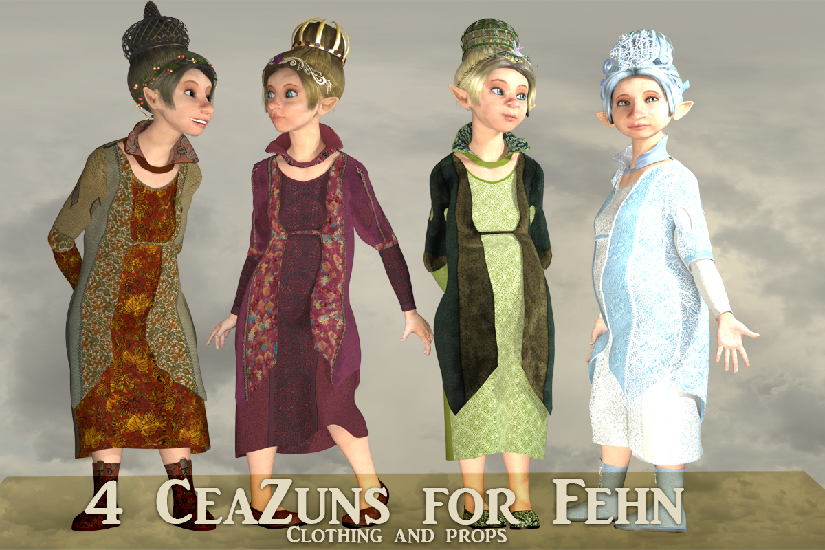 4 Ceazuns for Fehn by pixpax