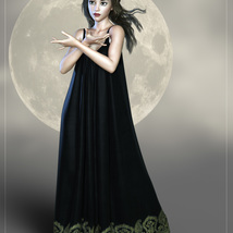 MoonChild for NyX Midnight Gown image 2