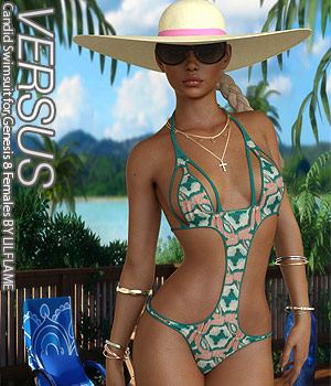 VERSUS - Candid Swimsuit for Genesis 8 Females 3D Figure Assets Anagord