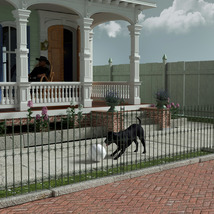 MS20 New Orleans Garden District House for DAZ Studio 4.9 Iray image 1