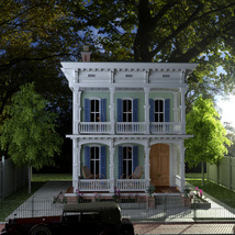 MS20 New Orleans Garden District House for DAZ Studio 4.9 Iray image 5