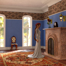 MS20 New Orleans Garden District House for DAZ Studio 4.9 Iray image 6