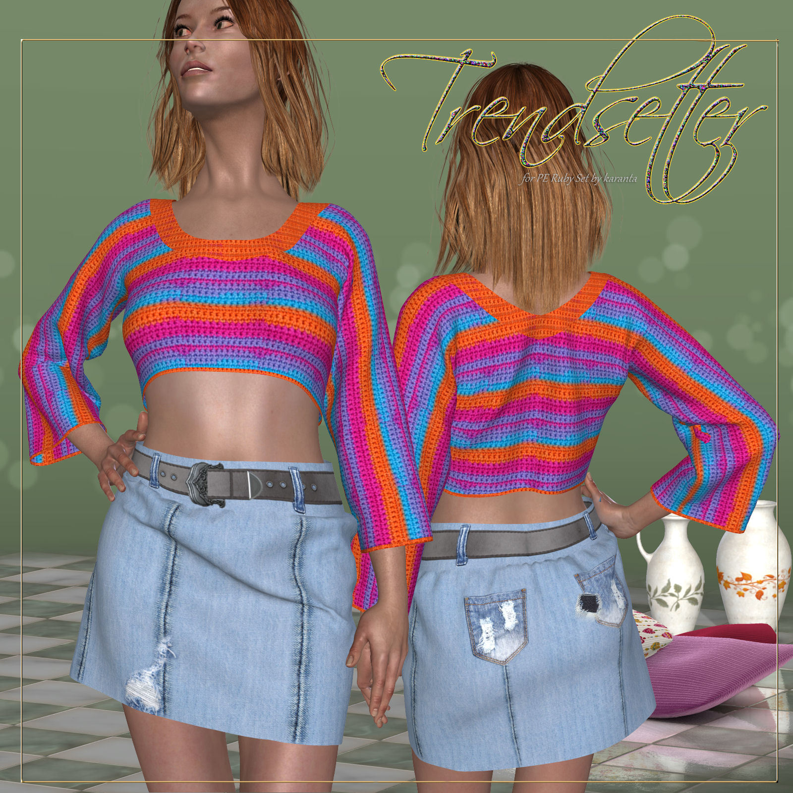 DA-Trendsetter for Ruby Set and 14 Styles for PE by karanta by DarkAngelGrafics