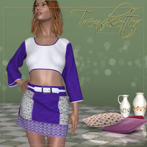 DA-Trendsetter for Ruby Set and 14 Styles for PE by karanta image 5