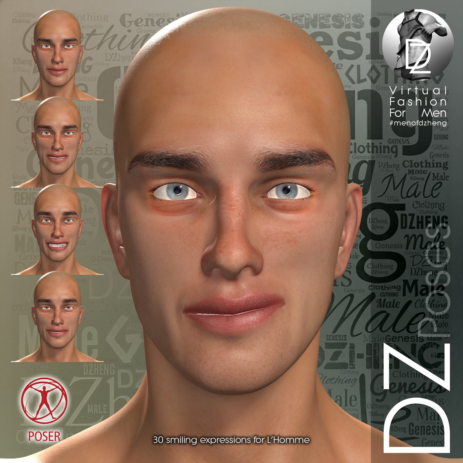DZ LH Emotions for L'Homme - Smiles by dzheng