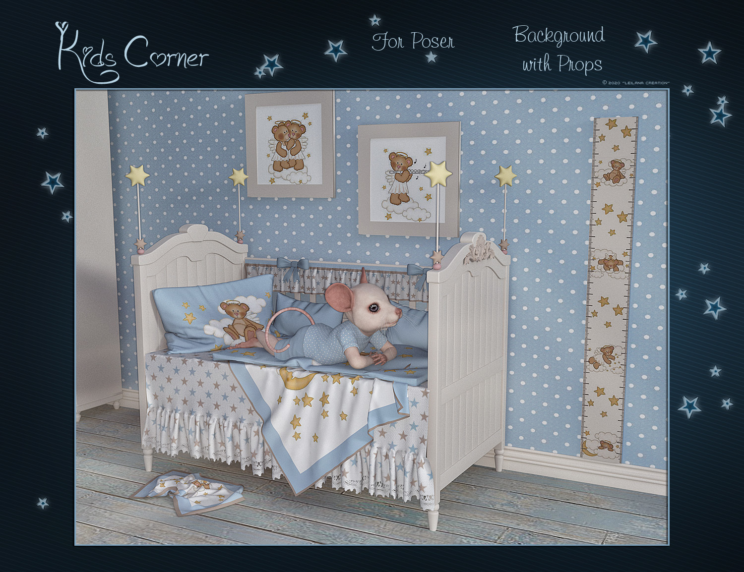 Kids Corner for Poser by Leilana