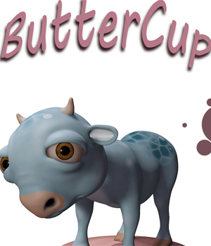 ButterCup 3D Models RPublishing