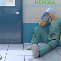 Heroes -  Medical Outfits  for La Femme and L'Homme image 4