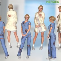 Heroes -  Medical Outfits  for La Femme and L'Homme image 5