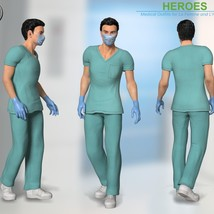 Heroes -  Medical Outfits  for La Femme and L'Homme image 6