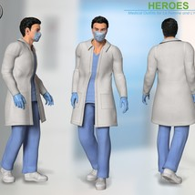 Heroes -  Medical Outfits  for La Femme and L'Homme image 7