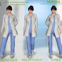 Heroes -  Medical Outfits  for La Femme and L'Homme image 9