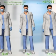 Heroes -  Medical Outfits  for La Femme and L'Homme image 10