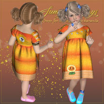 DA-Sunny Days for  Eni Dress -K4 image 2