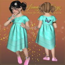 DA-Sunny Days for  Eni Dress -K4 image 5