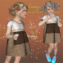 DA-Sunny Days for  Eni Dress -K4 image 6