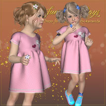 DA-Sunny Days for  Eni Dress -K4 image 8