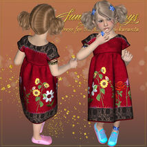 DA-Sunny Days for  Eni Dress -K4 image 9