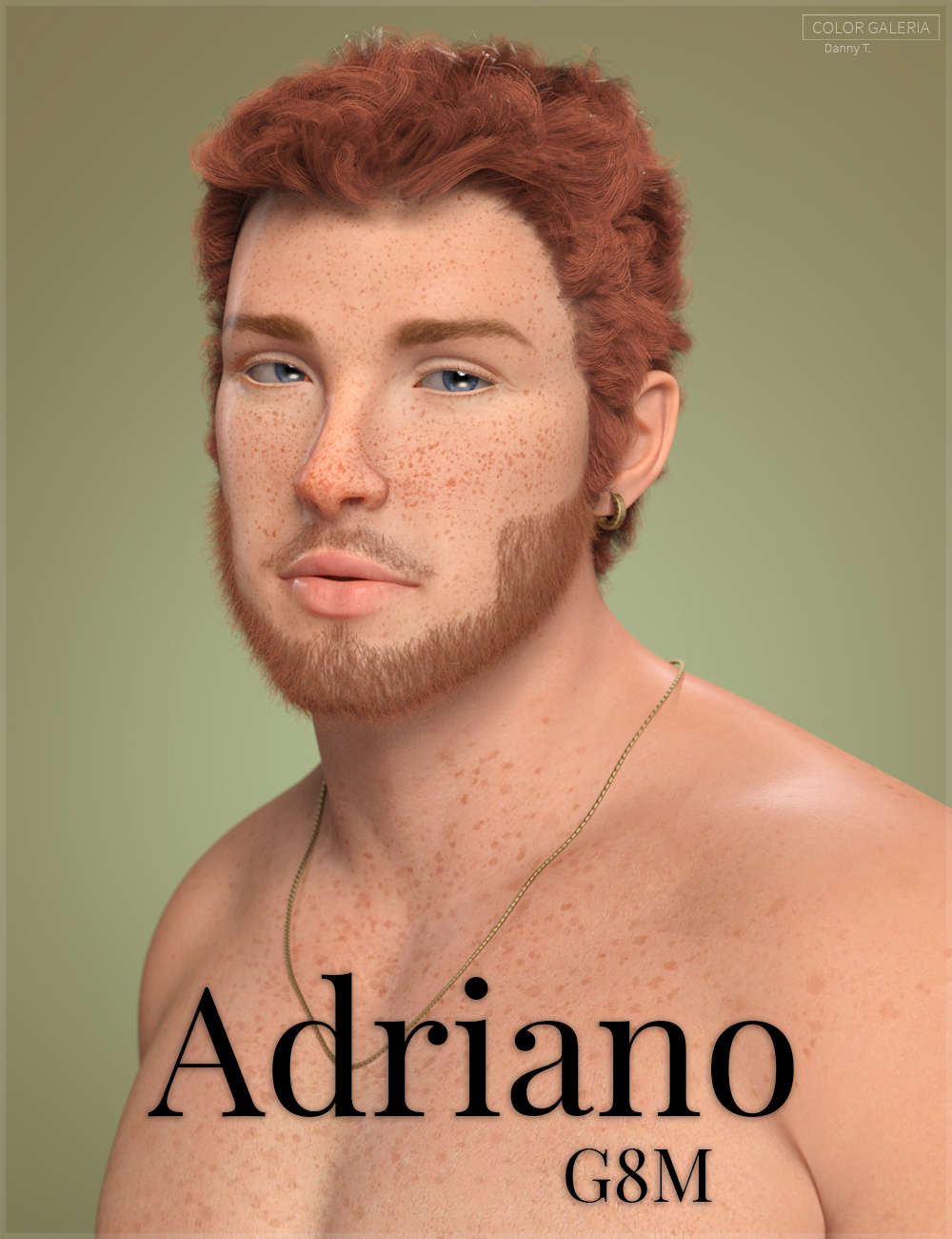 Adriano for Genesis 8 Male