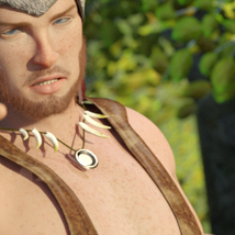 Adriano for Genesis 8 Male image 6