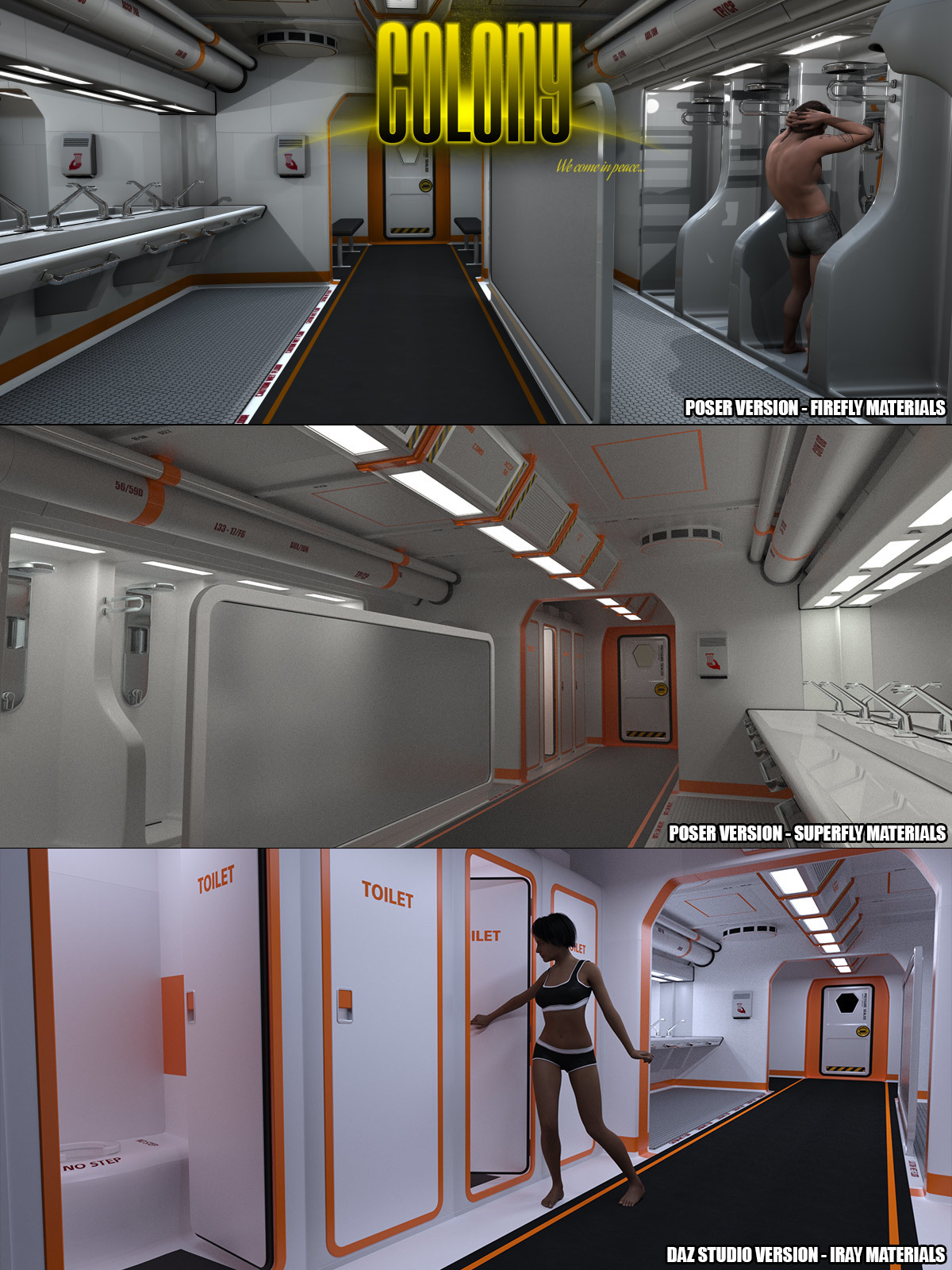 Colony SNT Block for Poser and DS by coflek-gnorg