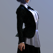 Dforce BW Glothic Outfit for Genesis 8 Female image 2