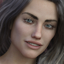 KrashWerks BRITTANY for Genesis 8 Female image 1