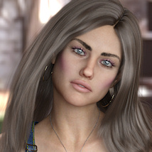 KrashWerks BRITTANY for Genesis 8 Female image 3