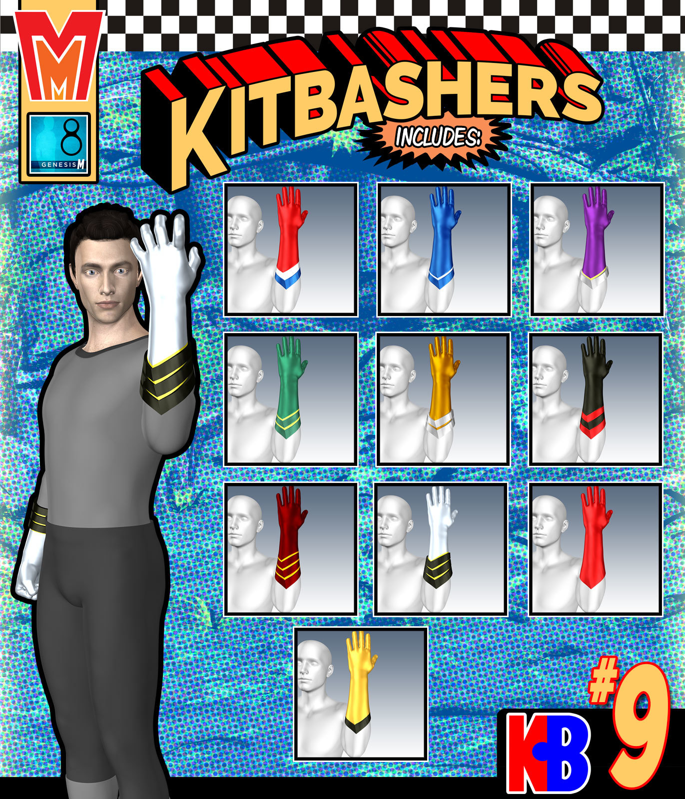 Kitbashers 009 MMG8M by MightyMite