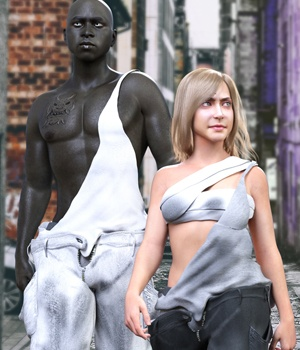 HardTime for Genesis 8 Male and Female 3D Figure Assets guaiamustudio