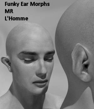 MR Funky Ears for L'Homme 3D Figure Assets La Femme - LHomme Poser Figures Karth