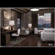 Modern Interiors - Living Room 2 image 1